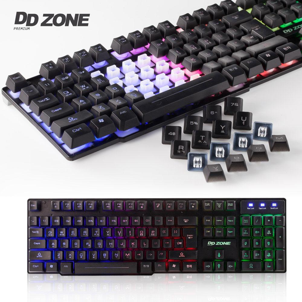 DDZONE K-350 LED 게이밍 키보드