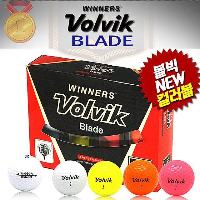 상상이상의 파워 볼빅 Blade 골프공 1타스(12개) 비거리 스핀력 3피스 다층구조 우수한 콘트롤