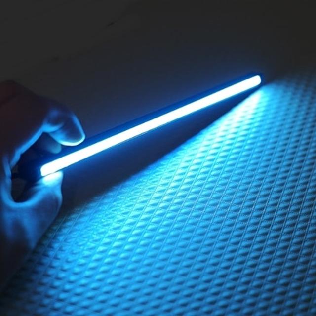 (Coms)자동차 포인트 LED램프 Blue 라이트-21cm (WH0210)